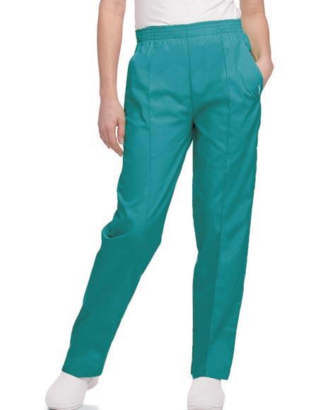 New Petite39s Elastic Waist Pants  Clothing  Women39s Clothing  Petite
