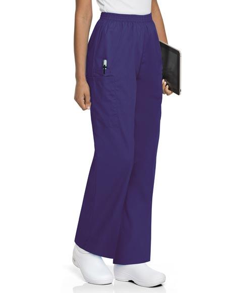 Innovative Silverts Women Petite Pants Elastic Waist Regular Two Pocket Pants 10